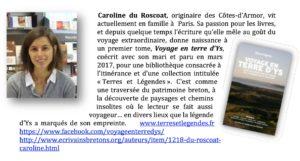 Caroline du Roscoat - Voyage en Terre d'Ys - Association des Ecrivains Bretons